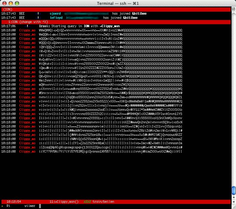 BitlBee - news old r html